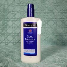 Neutrogena Norwegian Formula Deep Moisture Body Lotion Dry Skin 13.5oz 400ml