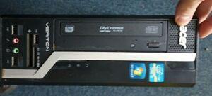 Acer Veriton X2610G  SFF (500GB, Intel Core i3 2nd Gen 4GB) WINDOWS 10 PC