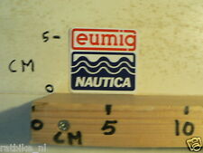 STICKER,DECAL EUMIG NAUTICA BOOT SCHIP JACHT