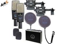 AKG C 414  XLS/ST Large Diaphragm Condenser Mic Stereo Set (Pair) Professional
