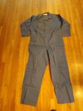Mens Copiah Creek 100% Cotton Coveralls Jumpsuit XL Long Sleeve USA Inseam 33""