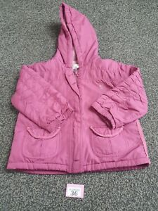 Girls Purple Jacket Age 1.5 / 2 Years 18-24 Months  From TU (P36)