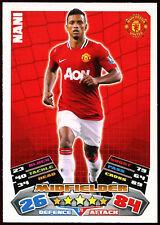 Nani Man. Utd #176 Topps Match Attax Football 2011-12 Trade Card (C208)