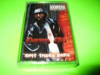 "NEW FACTORY SEALED: DRAG-ON ""SPIT THESE BARS"" ~CASSETTE TAPE"