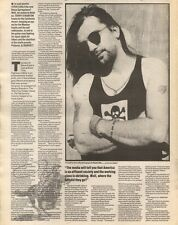 16/6/90Pgn22/23 Article & Picture(s) the Lone Ranger And Toronto Steve Earle On