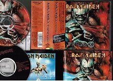 IRON MAIDEN Virtual XI JAPAN 2CD OBI+Bonus CD+BOOKLET+CALENDAR TOCP-50440 Free S