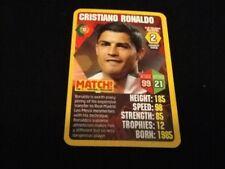 CRISTIANO RONALDO PORTOGALLO/Top Trumps GAME CARD Match MAGAZINE/2013 2014