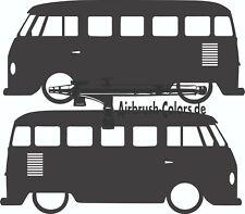 Aufkleber / Sticker VW-T1-Bus-Type-23-1960_1 Silhouette *Tuning*Stickerbomb