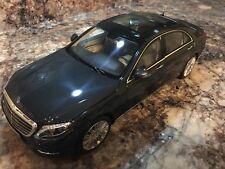 ORIGINAL MODEL,NOREV 1:18,Mercedes-Benz S-CLASS,S550, Anthracite Blue Metallic
