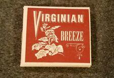 Vintage 1960s Virginian Cigarette Rolling Paper RARE