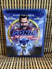 Sonic The Hedgehog: The Movie (2-Disc Blu-ray/DVD, 2020)Jim Carrey/James Marston