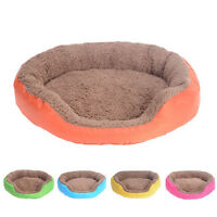 Soft Fleece Puppy Pet Dog Cat Bed House Basket Nest Mat Large Waterproof Warm