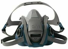 3M 6502QL Rugged Comfort Quick Latch Half Facepiece Reusable Respirator - MEDIUM