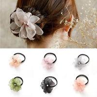 Pearl Flower Donut Headband Magic Hair Bun Maker Women Girls DIY Hairstyle Tools