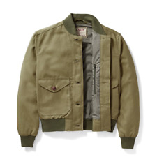 New with Tag Filson Libby Jacket Bomber Military Green Womens Large MSRP $ 265