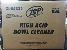 ZUATB32 ZEP ACID TOILET BOWL CLEANER 32oz, 12/CASE - FREE SHIPPING