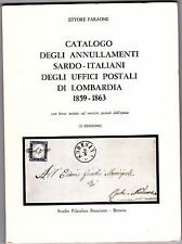 CATALOGO DEGLI ANNULLAMENTI SARDO - ITALIANI DEGLI UFFICI POSTALI DI LOMBARDIA