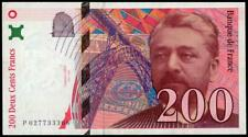 FRANCE 200 FRANCS 1996 P 159. GUSTAVE EIFFEL XF CONDITION   LOOK!