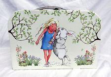 Alicia en el País De Las Maravillas/Alicia y el Conejo Blanco, Caja de almacenamiento de estilo maleta-nuevo