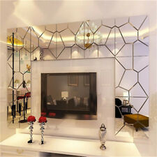 7X Removable Mirror Moire Pattern Home Decor Mural Art Decal Wall Sticker Modern