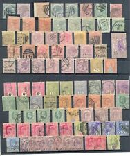 CEYLON 165 STAMPS MOST USED -MOST VF