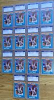 1990 Fleer All-Stars Michael Jordan Lot Nr Gem Mint Basketball #5 + PSA 10