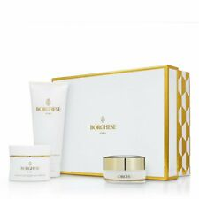 NEW 3 PC Italian BORGHESE GOLD TRILOGY FIRM MASK NIGHT CREME EXFOLIATOR