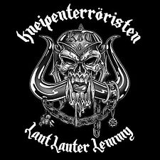 KNEIPENTERRORISTEN - LAUT LAUTER LEMMY ( MOTÖRHEAD ) DIGI CD + KT UND FREUNDE CD
