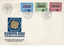 First day cover, Portugal, Europa CEPT, Scott #895-7, 1962