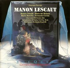 PUCCINI : MANON LESCAUT (QS) - TEBALDI, DEL MONACO, MOLINARI-PRADELLI / CD
