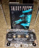 SKINNY PUPPY VIVI SECT VI CASSETTE TAPE CAPITOL RECORDS CANADA SUPER RARE LOOK!!