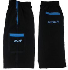 Miken Microfiber Shorts BLACK/CAROLINA BLUE 3XL