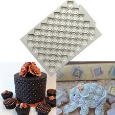 Knitting Silicone Fondente goffratrici muffa Sugarcraft Bordo Stampo Decorazione Torte
