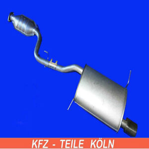 BMW - Z3/Z3 Coupe - 1.9/2.8 - Muffler Exhaust