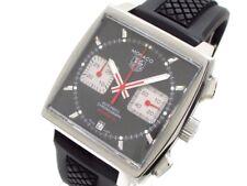 Auth TAG Heuer Monaco Chronograph Calibre 12 CAW2114/CAW2114.FT6021 Wrist Watch