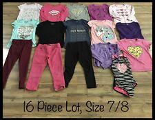 Girls Clothing Lot, 16 Items, Size 7/8, Circo, Faded Glory, Jordache, 1989 Place