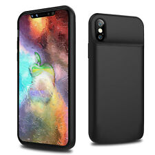 iPhone X 7 8 Battery Case, 6000mAh 150%+ Portable Rechargeable Extended Backup