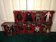 Star Wars Elite Series Disney LOT General Grievous Darth Vader Maul Boba Fett ++