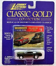 Johnny Lightning Classic Gold 1966 Shelby GT 350 H 1:64th.