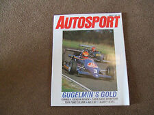 Autosport 2 January 1986 TARK TART Racing Cars Alfa 90 F3 Review Paris Dakar