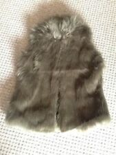 Plus Size Faux Fur Coats & Jackets without Fastening for Women