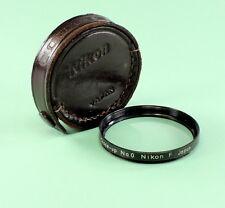 Nikon F Close-up Lens No. 0, 52 mm in original leather case