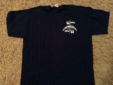 U2 rare 360 Us tour crew shirt Adult X-Large 'Blue Steel' Xl