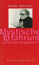 Henri boulad, místico experiencia y compromiso social, firmada, Müller 1997