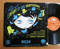 LXT 5019 Ravel L'Enfant Et Les Sortileges Ansermet (= SXL 2212) Decca Mono EX/VG