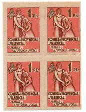 Sello Local Guerra Civil Valencia -Cat. Edifil 7.  ORD:1101
