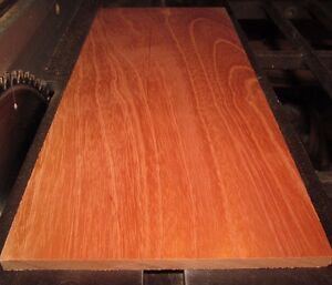 "Spanish Cedar Lumber   ~  5"" X 14"" X 1/4""  planed 2 sides"