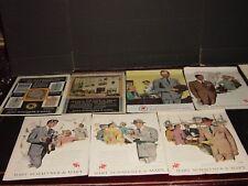 HART SCHAFFNER & MARX 14  PAGES  PRINT ADS ORIGINAL VINTAGE   1931-1963