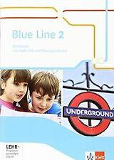 Blue Line / Workbook mit Audio-CD und Übungssoftware 6. ... | Buch | Zustand gut