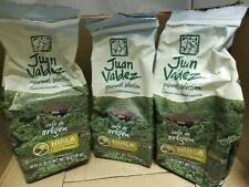 JUAN VALDEZ  HUILA 3-10 oz Bags Gourmet Selection Ground Coffee Jan 2020